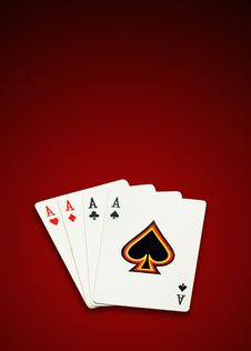 Free Four Aces Stock Images - 6480104