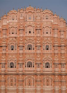 Hawa Mahal, The Palace Of Winds Stock Images