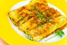 Cannelloni With Stuffing Of Meat And Cheese- Fresh Royalty Free Stock Images