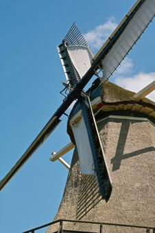 Free Dutch Windmill Stock Photography - 6482022