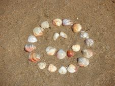 Free Smile In The Sand Royalty Free Stock Images - 6482029