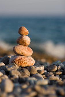 Free Stones On The Sea Stock Photo - 6482090