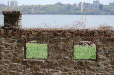 Free Ruins On The Hudson River NJ Stock Image - 6483051