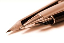 Free Writing Tools Royalty Free Stock Images - 6484289
