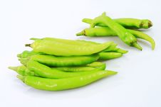 Free Green Pepper Royalty Free Stock Photo - 6484405