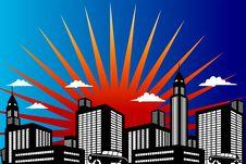 City Royalty Free Stock Image