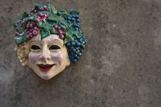 Free Face On The Wall Royalty Free Stock Photography - 6485557