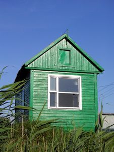 Free Green Hut Or Shed Royalty Free Stock Photos - 6485568