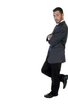Free Stylish Pose Of American Businessperson Stock Images - 6486054