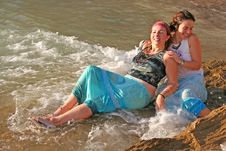 Mermaids Stock Images