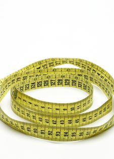 Free Measuring Tape Royalty Free Stock Photography - 6486627