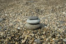 Free Stack Of Stones In The Beach Royalty Free Stock Photo - 6487165