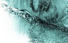 Blue Water Drop Stock Images