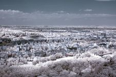 Free Infrared Panoramic City Royalty Free Stock Images - 6487529