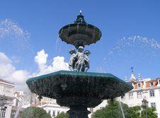 Free Rossio Fountain, Lisbon Stock Photo - 6488170
