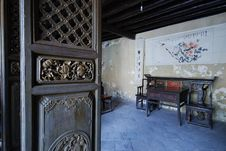 Free Chinese Traditional Living Room Royalty Free Stock Photos - 6488648