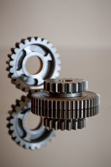 Free Two Cogwheels Stock Photo - 6489370