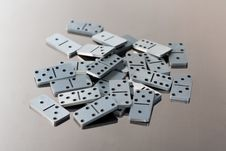 Free Steel Dominoes Stock Images - 6489404