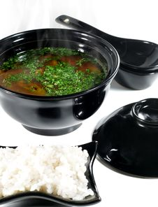 Free Japanese Cuisine -- Soup Royalty Free Stock Images - 6489439