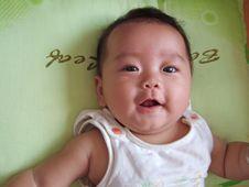 Free Happy Baby Royalty Free Stock Photo - 6489595