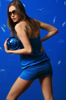 Free Woman With Sphere Stock Photo - 6489890