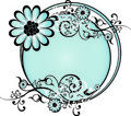 Free Blue Round Background Vector Royalty Free Stock Photography - 6491517