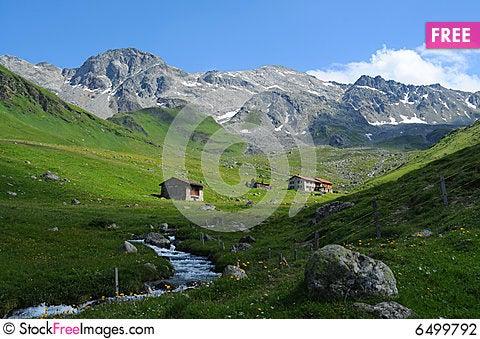 Free Swiss Panorama Stock Photography - 6499792