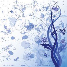 Decorative Floral Stock Image
