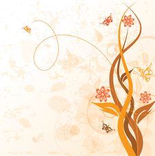 Free Decorative Floral Royalty Free Stock Photography - 6490147