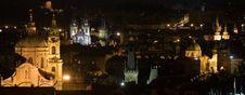 Free Night Prague Scenery Stock Image - 6490311