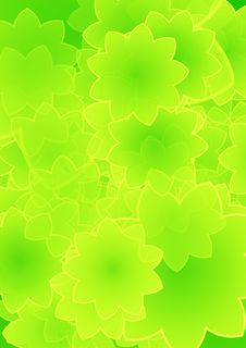 Free Green Floral Background Royalty Free Stock Photo - 6491565
