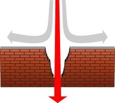 Free Brick Wall Royalty Free Stock Photography - 6491737