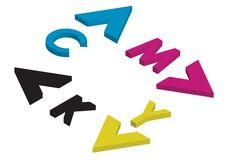 Free Cmyk Arrows - Vector Stock Photo - 6491860