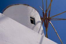 Free Windmill In Santorini Royalty Free Stock Photos - 6492578