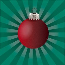 Free Red Christmas Ball Royalty Free Stock Photo - 6493945
