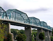 Free Blue Bridge Royalty Free Stock Images - 6494449