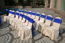 Free Wedding Chairs Royalty Free Stock Photo - 6494835
