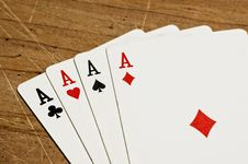 Free Four Aces Stock Photos - 6494853
