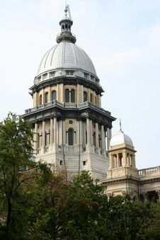 Free Illinois State Capitol Building Stock Photo - 6494870