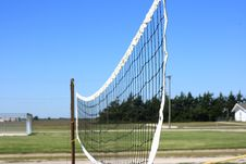 Outdoor Volleyball Net Royalty Free Stock Photography