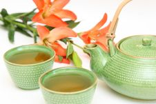 Free Teapot And Cup Stock Photo - 6495550