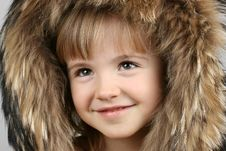 Free The Little Girl Royalty Free Stock Photography - 6495567