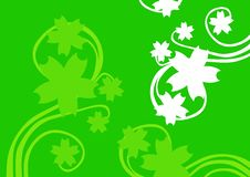 Free Green Floral Background Stock Images - 6495694