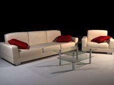 Free Leather Sofa Stock Photo - 6496820