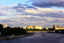 Free View On The Moscow-river Stock Photo - 6496910