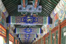 Free Summer Palace Roof Close-up Stock Photo - 6497090