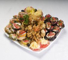 Free Vegetable Salad Royalty Free Stock Photo - 6497475