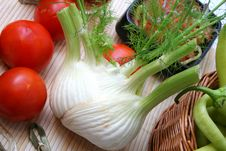 Free Fresh Fennel Stock Image - 6498301
