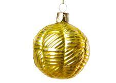 Free Gold Christmas Ball Royalty Free Stock Image - 6498686