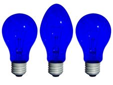 Free Different Blue Lamp Stock Images - 6498814